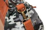 Moda Printing Canvas Lady Handbag com Cowhide Leather (RS-P53-13)
