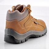 Nubuck Couro Sapatos de segurança não metálicos para trabalhadores M-8150
