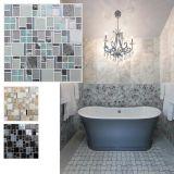 Mattonelle di vetro lucide della parete del mosaico delle mattonelle di mosaico del materiale da costruzione