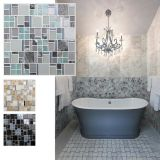 Baumaterial-Mosaik-Fliese-glatte Glasmosaik-Wand-Fliese