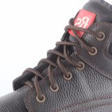 Kuh-aufgeteiltes Leder-Sicherheits-Fußbekleidung Snb113A