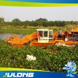 Récolteuse de mauvaises herbes aquatiques pour le nettoyage de l'usine de l'eau et déchets flottants