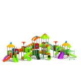 Parque Infantil exterior de plástico para crianças e crianças (JYG-15016)