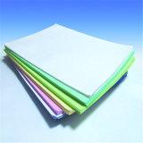 Белый и Розовый 3-слойные безуглеродной копировальной NCR рулонов бумаги