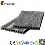 3D popular compuesto de plástico madera repujado WPC techado