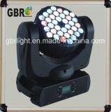 Lumière principale mobile de faisceau de l'éclairage 36*3W RVB DEL d'étape de Gbr