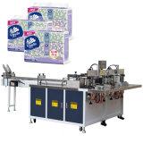 Taschentuch-Baumwollpapier-Gewebe, das Maschine zusammenrollt