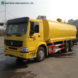 Sinotruk HOWO 유조 트럭, 6X4 20cbm 물 탱크 트럭 판매