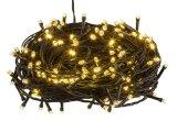 Icicle 5mm СИД теплый белый освещает 7.5 ' белый провод - напольные света рождества, напольные украшения рождества, света Icicle праздника, света шнура праздника