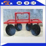 農業のEuipmentディスクRidgerによって取付けられるトラクター