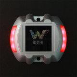 キャッツ・アイ赤いLEDライト3m反射鏡のアルミニウム太陽道のスタッド