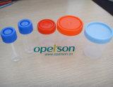 Tazza di plastica a gettare dell'urina con i vari formati