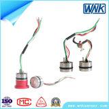 316L Membrane Mems Piezoresistive Oil Gas Steam Pressure Sensor, 0-100V Output