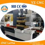 Máquina de torneado barata del torno del CNC para torno del CNC de la venta y de la base plana