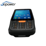 4 pulgadas toque industrial portátil resistente 1d móviles, PDA con lector de códigos de barras 2D y NFC