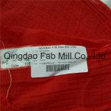 Rojo 100%Ramio Crepe Tela Tela (QF16-2526)