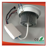 9*3W RGBW/Rgbww LED Downlight/LED 천장 빛
