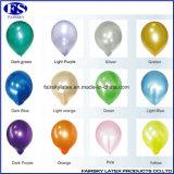 """12 """" 3.2g丸型の真珠の乳液の気球のヘリウムの気球"""