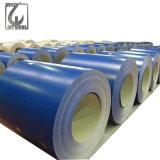 0.4m m filmaron la bobina de acero prepintada PPGI cubierta color