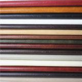 Semi cuir graisseux de meubles de sofa de Faux de peau chiffonné par matériau d'unité centrale