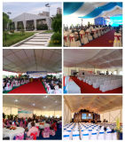 Белый ПВХ Chuppah репродукции выездных мероприятий для проведения свадеб