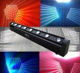 Umdrehungs-bewegliches Hauptlicht 8 Augen-LED für Disco-Stadium DJ