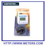Uso uno del termometro & del temporizzatore di TA238 Digitahi 1.5 volt. Batteria del AAA