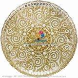 De gouden Zilveren Galvaniserende Plaat van de Lader van het Glas van de Stof Decoratieve