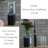 Bambú diaria cepillo de dientes adultos Sonic Cepillo de Dientes Wholeseller eléctrico