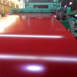 Bobina/strato d'acciaio ricoperti colore