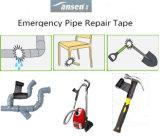 Cinta negra Pipe wrap reparación Reparación Kit de cinta de fibra de vidrio.