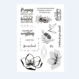 --Stamps-Scrapbooking Rubber-Clear Transparent-Silicone-Decor-Embossing-DIY-ремесла