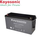 El ácido de plomo 12V 130Ah batería de gel Solar para el sistema de rejilla
