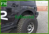 Jeep Wrangler Jk+frontal de aluminio Kits de eliminar el guardabarros trasero 2007-2017