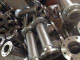 Tubo flessibile ondulato dell'acciaio inossidabile di alta qualità con intrecciatura