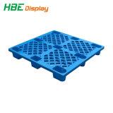 1200*1000 op zwaar werk berekende Maagdelijke HDPE van 4 Manier Euro Plastic Pallet voor het Rekken