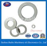 En acier au carbone de l'ISO Sk5 / Acier inoxydable 304/316 DIN25201 Twin rondelle autobloquant