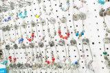 De zilver Geplateerde Armbanden van de Charme van de Parels van het Kristal van de Ketting van de Slang