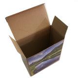 Haut de couleur CMJN Boîte en carton ondulé avec vernis de verrouillage