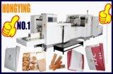 기계 제조자, 기계를 만드는 편평한 바닥 종이 봉지를 만드는 최대 직업적인 종이 봉지