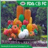 La sculpture de légumes colorés à bas prix