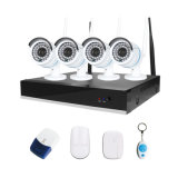 完全なHD 1080P無線NVRキット2MP屋外のWiFiの機密保護IPのカメラCCTVシステム
