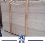 室内装飾のプロジェクトのための自然な磨かれた木の静脈の大理石の平板