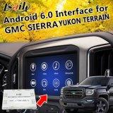 Plug&Play Android 6.0 Система навигации GPS для 2014-2018 Gmc Yukon Сьерра-модуль приспособления к местности и т.д. с WiFi Google Yandex и т.д.