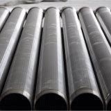 Cuña de acero inoxidable de buena calidad de la pantalla de tubo de alambre
