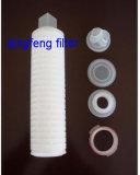 Filtre plissé en nylon de 0,2 micron cartouche pour la certification de filtration du vin avec la FDA