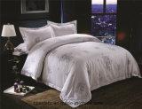Alta qualidade de algodão 100 Rainha Consolador Definir Hotel roupa de cama branca