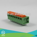 schakelaars van de Kabel van de EindBlokken van PCB van de Hoogte van 5.0mm de Elektro