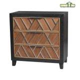 Gabinete de armazenamento de madeira do crepúsculo de madeira Home do acento da mobília