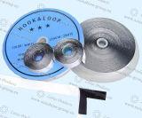 Nylon-anhaftender bunter Haken u. Schleife der Qualitäts-100%